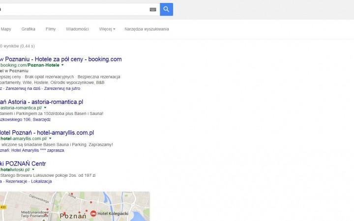Żegnamy reklamy Google AdWords (te z prawego panelu)
