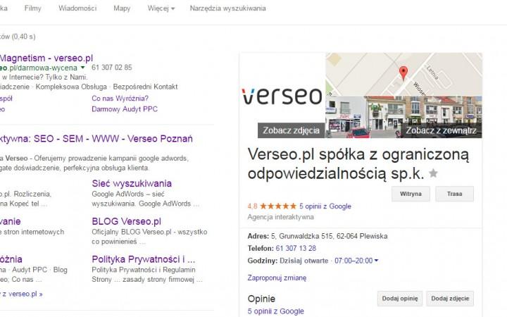 Google AdWords zielone na wiosnę :)