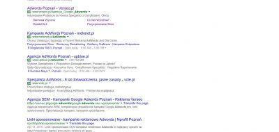 Nowy sposób wyświetlania Google AdWords