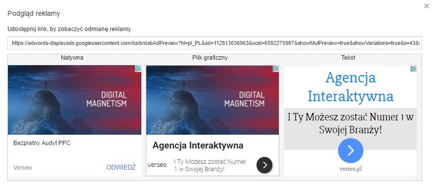Reklamy Elastyczne W Google Adwords Blog Verseopl