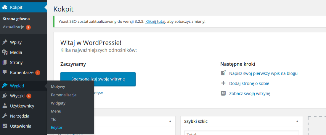 google analytics wordpress kod śledzenia 2