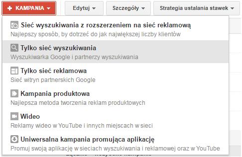 Sieć Wyszukiwania a Sieć Reklamowa Google