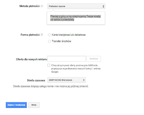 Jak założyć konto Google AdWords?