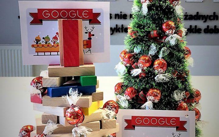 Wesołych świąt życzy Google
