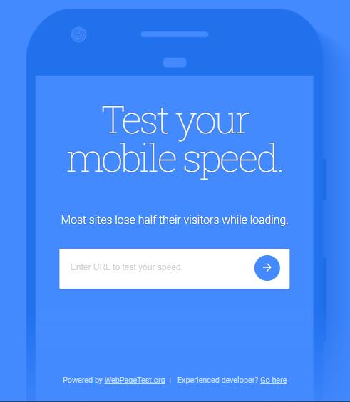 test szybkości strony
