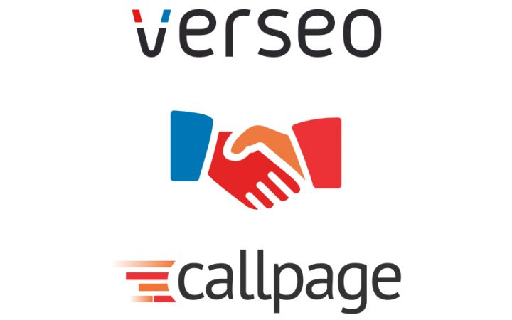 Verseo i CallPage łączą siły!