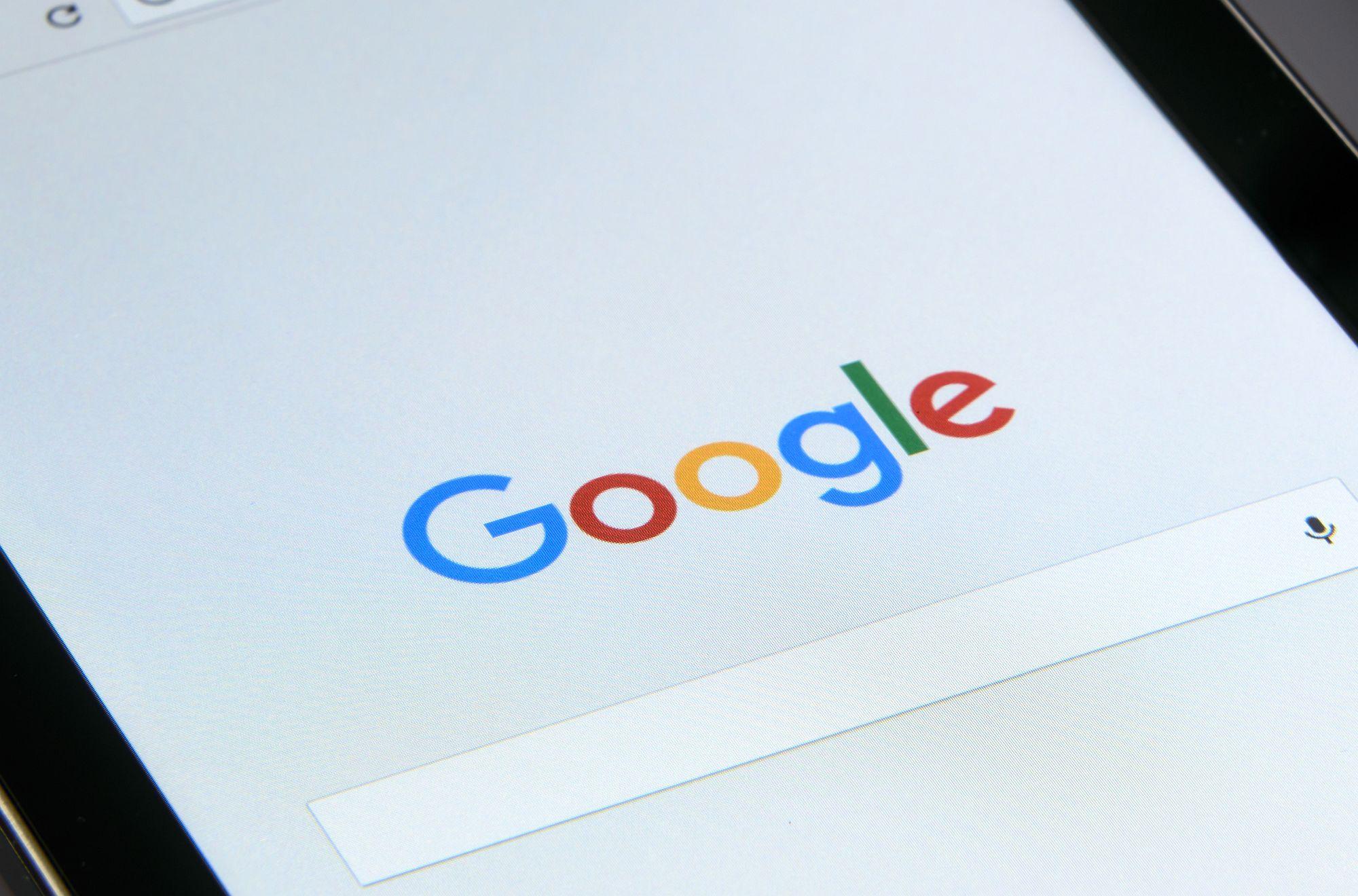 strona wyszukiwania google