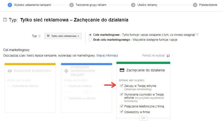 kampanie w sieci reklamowej google