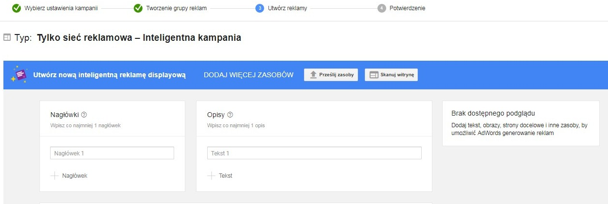 kampanie google display network