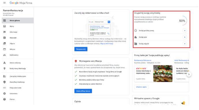 firma w google maps - jak założyć