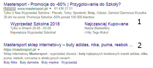 marketing internetowy serp