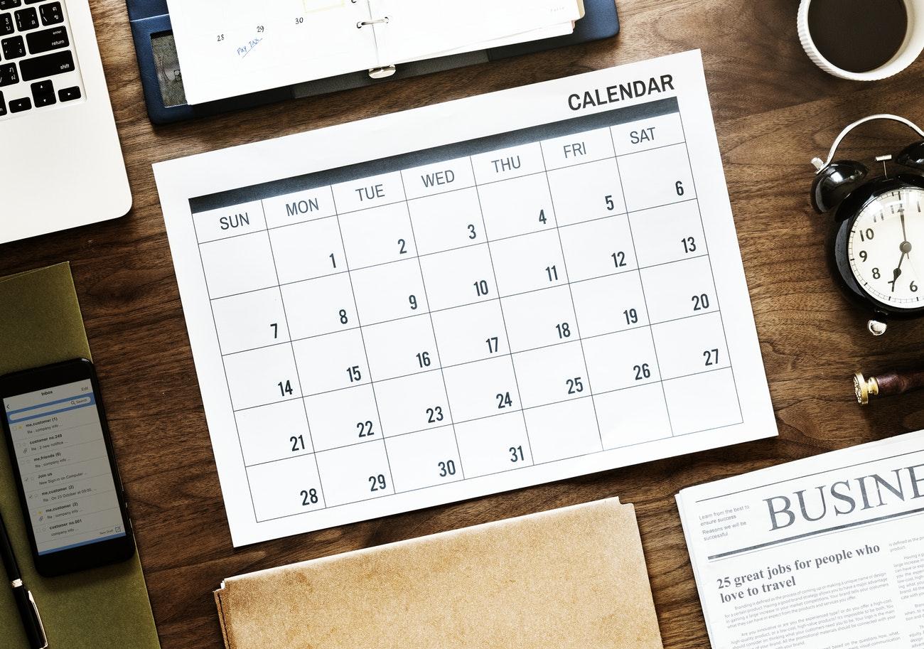 kalendarz marketingowy 2019