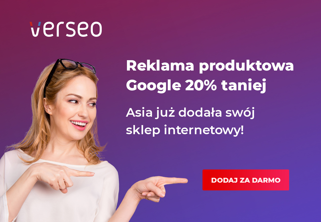 reklama produktowa google css