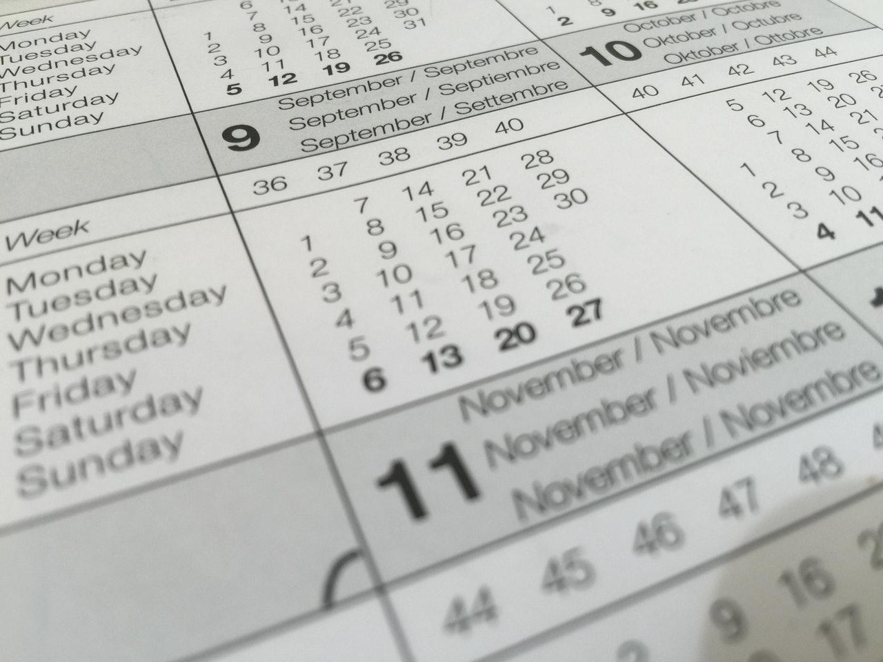 kalendarz marketingowy 2020